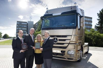 Truck of the Year 2009 - Mercedes Actros