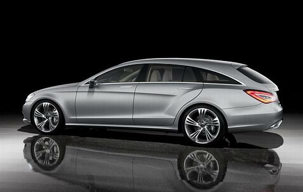 Mercedes-Benz CLS Shooting Break Concept Car