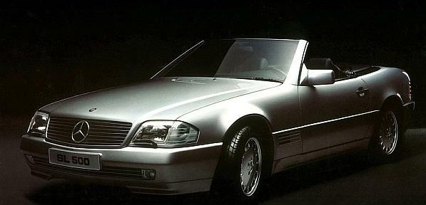 Mercedes SL R129 roadster