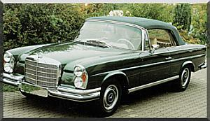 Mercedes-Benz 280SE 3.5 Convertible